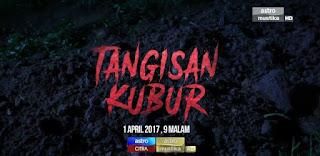 lakonan Emma Maembong dan Alvin Chong di Tangisan Kubur