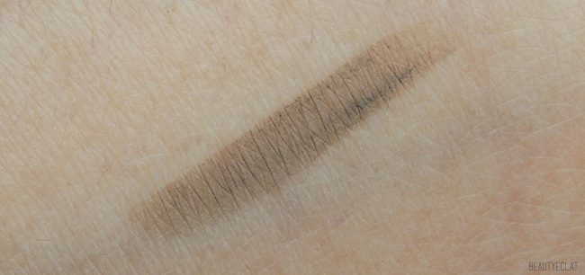 benefit goof proof brow pencil crayon sourcils revue avis test swatch avant apres