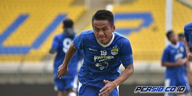 Ghozali Siregar Gabung Latihan Persib Bandung