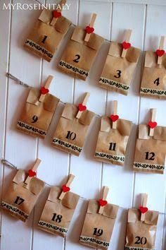 Bambino di mamma calendario dell 39 avvento fai da te for Calendario avvento fai da te