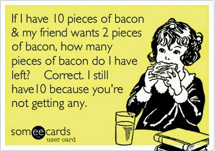 bacon cartoon