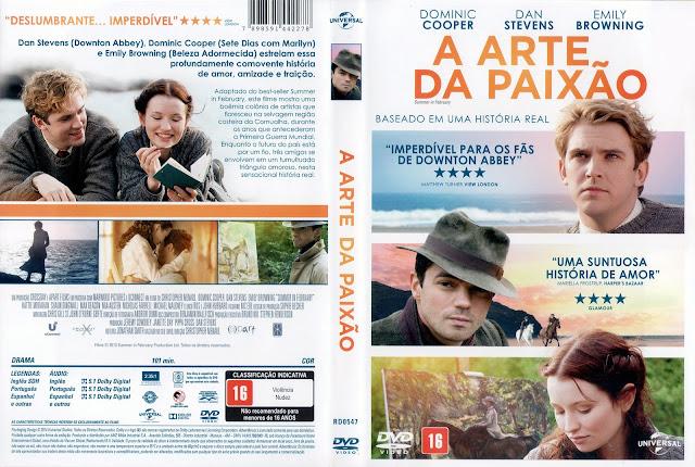 Capa DVD A Arte da Paixão