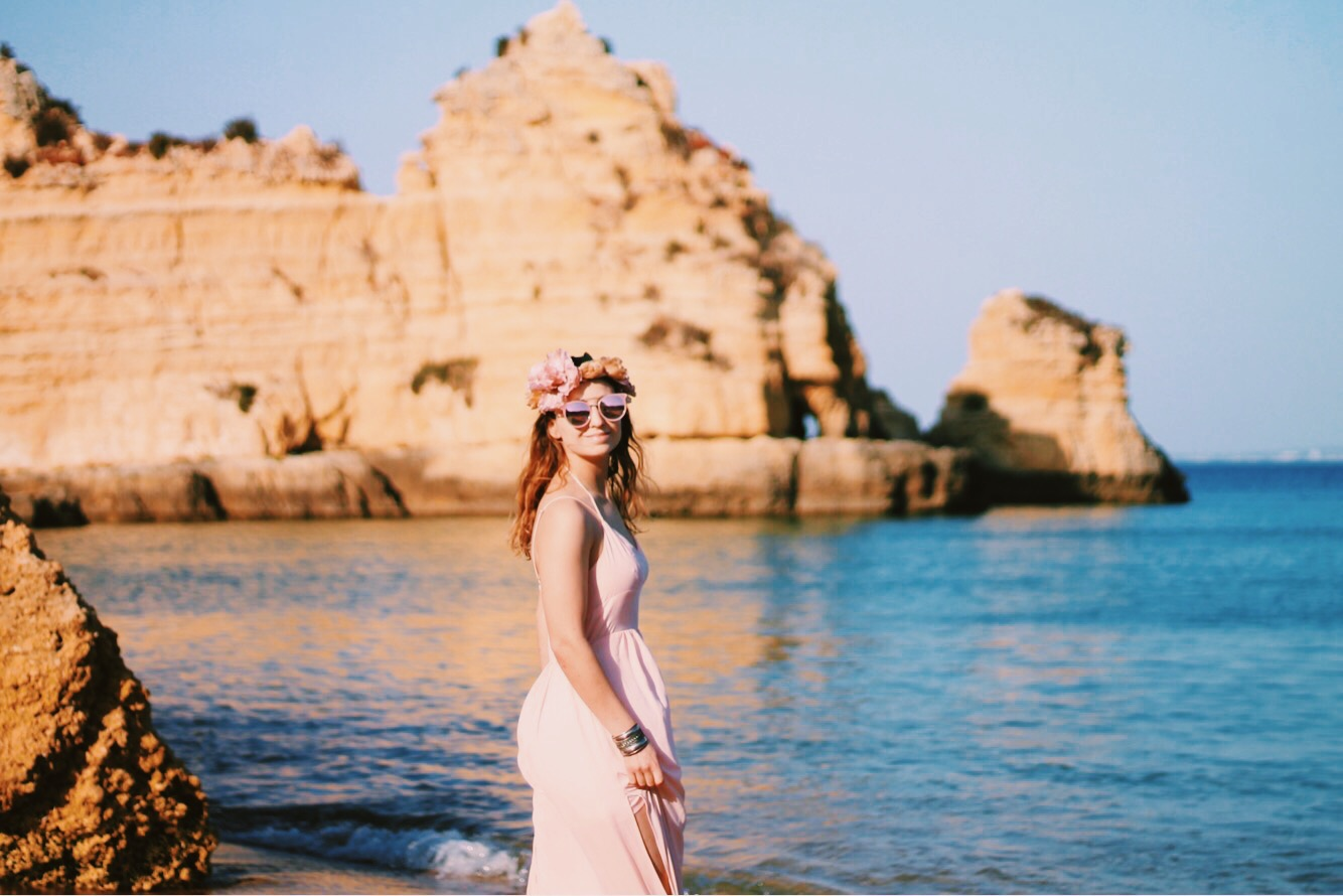 I felt like a sea fairy in these photographs taken at Praia da Dona Ana 8cc4af03c25