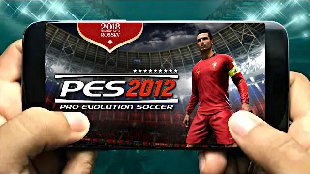 PES 2012 MOD 2018 V9 300 Mb Best Graphics Android Offline