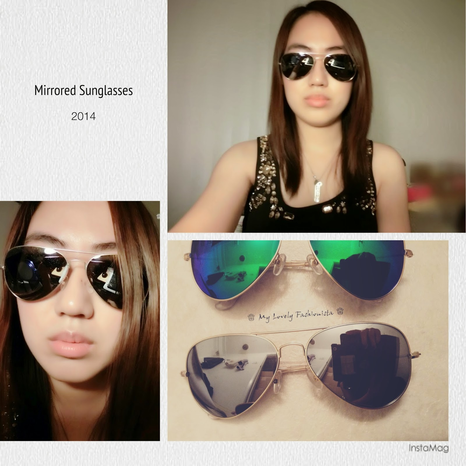 79a24d07c40 Aquaswiss – Unisex James Charcoal Mirrored Aviators - ♕ My Lovely ...