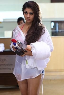 Nayanthara Hot Photos in Arrambam Movie 22 - 50+ Sexiest Bikini Photos of Nayantara:Hot Naval & Boob Cleavage Images