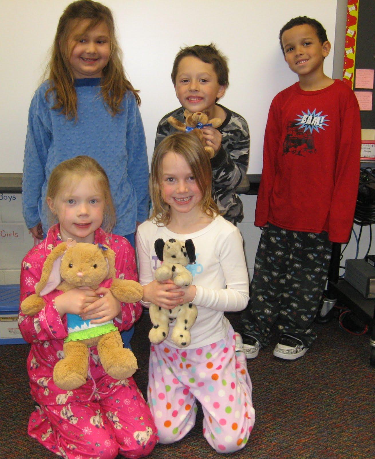 First Grade Fun Pajama Day