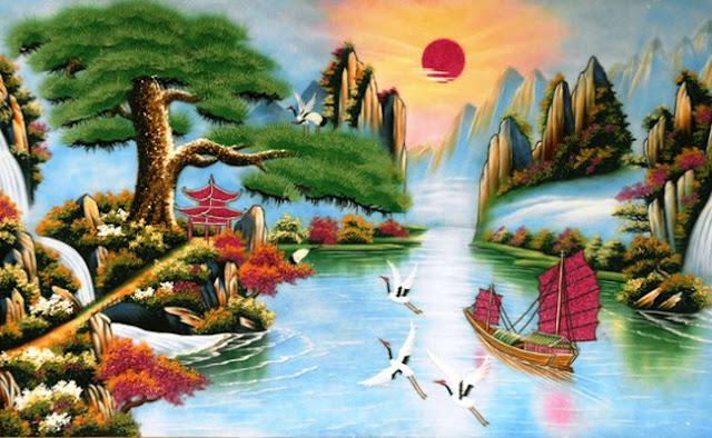 Bức Tranh Phong Thủy Trang Trí Phòng Khách Hợp Phong Thủy