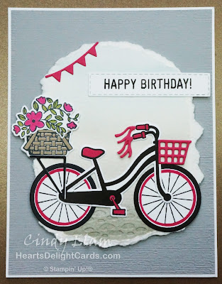 Heart's Delight Cards, Bike Ride, SRC - Bike Ride, Stamp Review Crew, Stampin' Up!