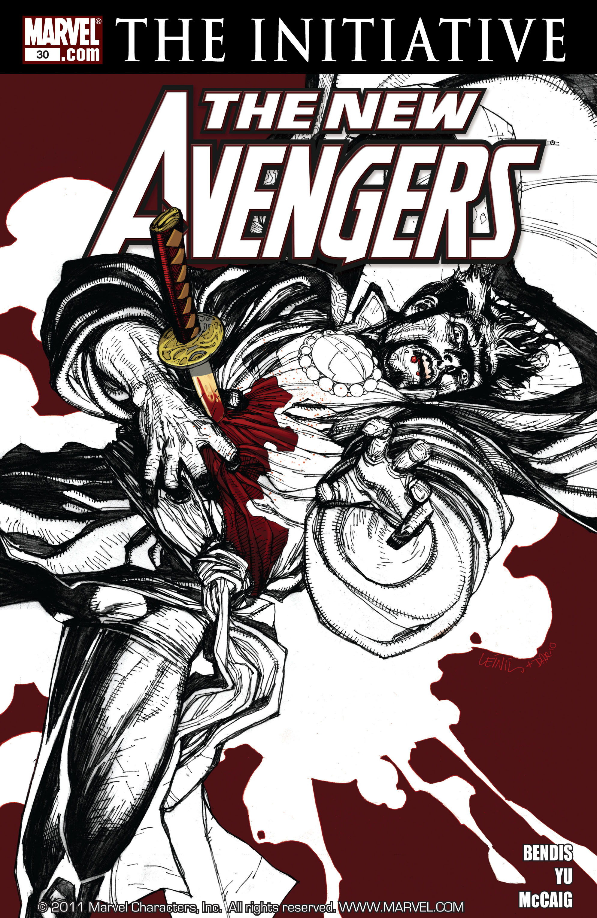 New Avengers (2005) issue 30 - Page 1