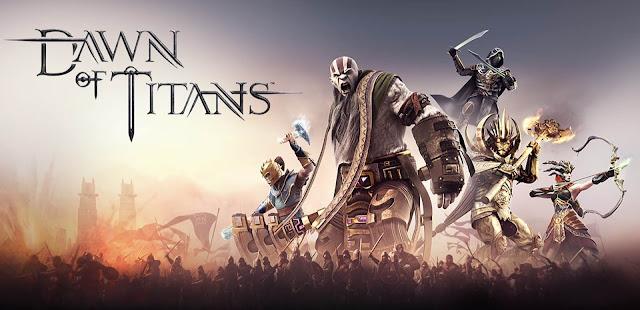 تحميل اللعبة الاستراتيجية Dawn of Titans كاملة مهكرة للاندرويد اخر تحديث