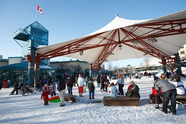 Inverno em Winnipeg