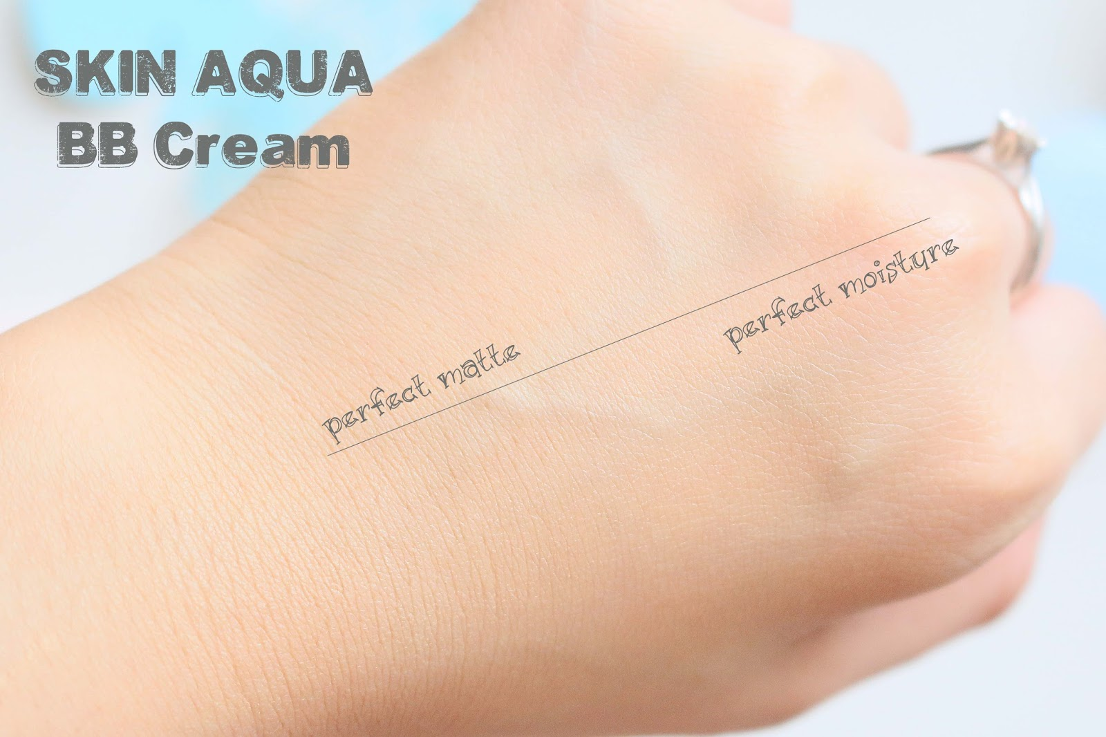skin aqua, bb cream, makeup, review, japan, everyday, perfect matte, perfect moisture, swatches