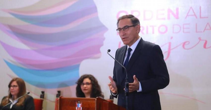 Gobierno intensificará prevención, educación y sanción ante violencia contra la mujer