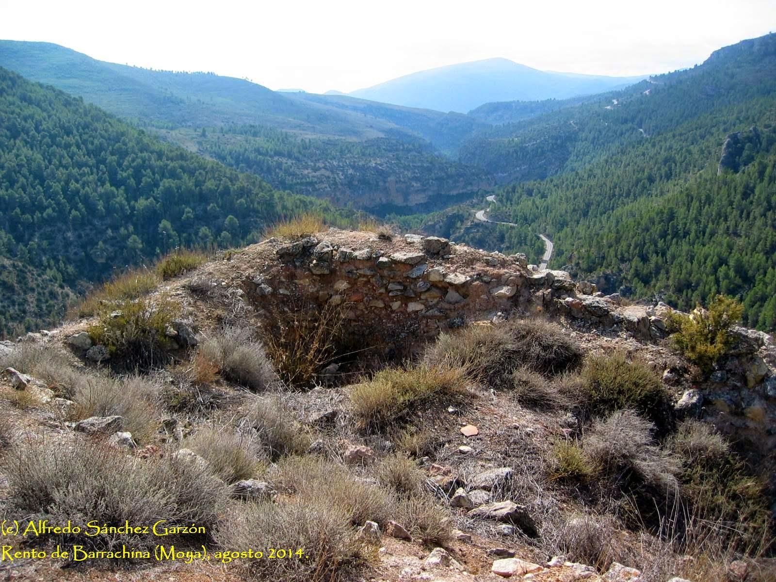 castillo-barrachina-moya-cuenca-arqueología
