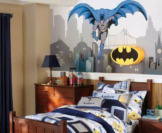 dekor kamar tidur anak laki-laki yang unik