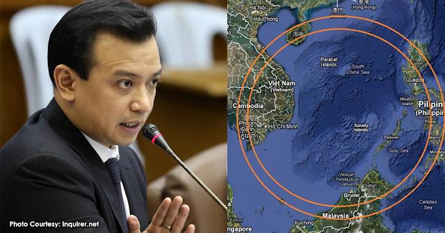 AFP Pinagbawalan ni Duterte na magbatay sa West Philippine Sea ayon kay Trillanes.