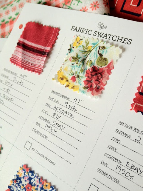 A Fabric Swatches Notebook is a great idea!! This was previously available as a free download but it hasn't worked for me at all over the past year I have tried to download. An Extensive List of Potential Uses For Your Favourite Blank Notebook
