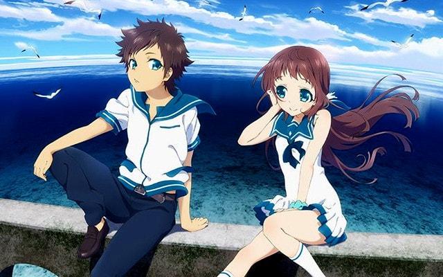 Nagi no Asukara - anime bercerita tentang kehidupan anak dari lautan