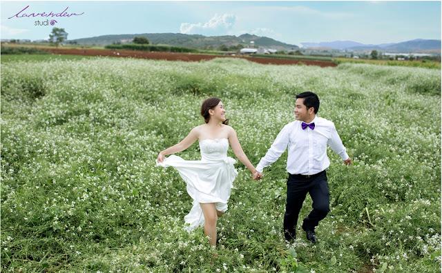 chụp hình cưới tại Đà Lạt