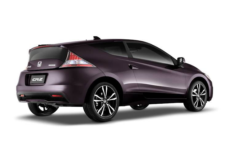 Honda Cars Philippines Launches The CR Z Sports Hybrid The New