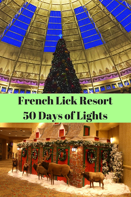 French Lick Resort in Indiana's 50 Days of Lights