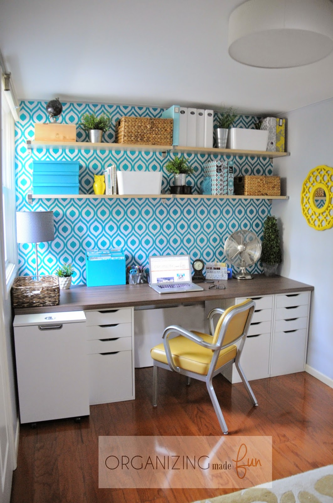 Home Office of Organizing Made Fun's home tour