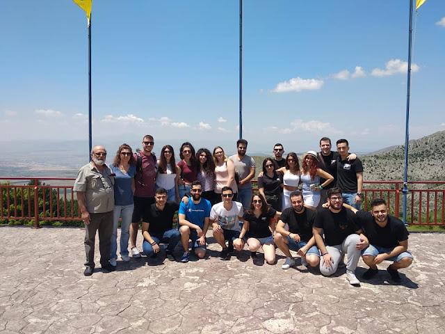 Στο «Λάλεμαν τη Παρχαρομάνας» βρέθηκαν οι Πόντιοι φοιτητές της Θεσσαλονίκης