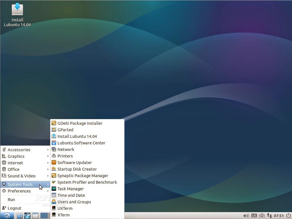 DominioTXT - Lubuntu Desktop
