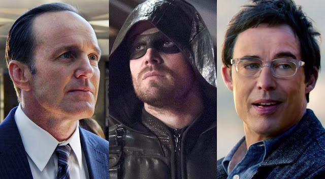 the flash, agents of shield, arrow