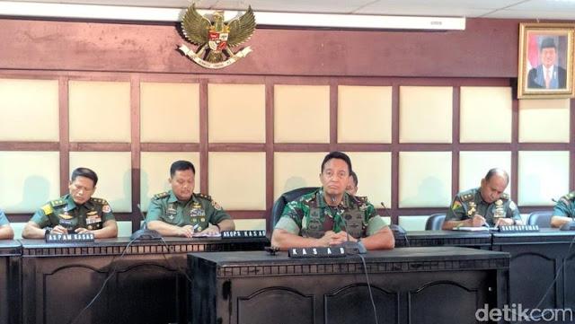 Jenderal Andika Perkasa Bantah Babinsa Ikut Hitung Suara