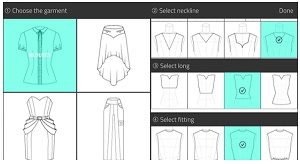 cara desain baju di android