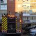 Rescatan al inquilino de una vivienda de San Fernando de Henares que se había refugiado en el techo por un incendio