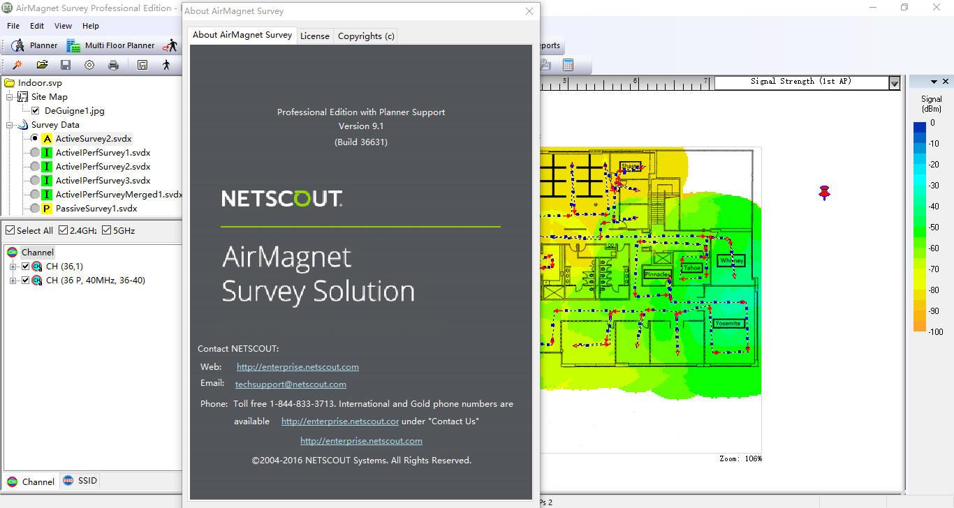 airmagnet wifi analyzer pro 9.1 crack