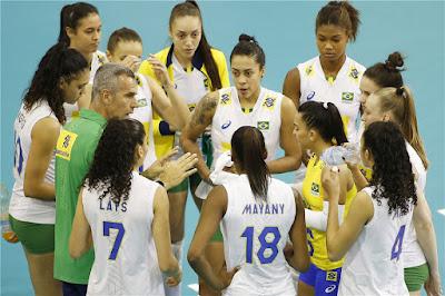 seleção brasileira feminina de vôlei 2017