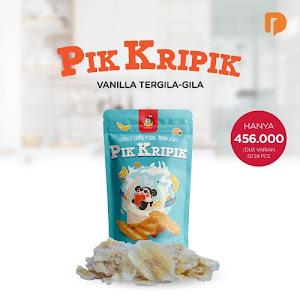 Pik Kripik Rasa Vanilla Tergila Gila (Set of 24)