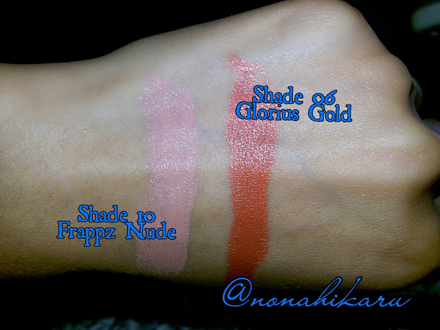 Chart for Lips: Review: Make Over Creamy Lust Lipstick 08 & 09