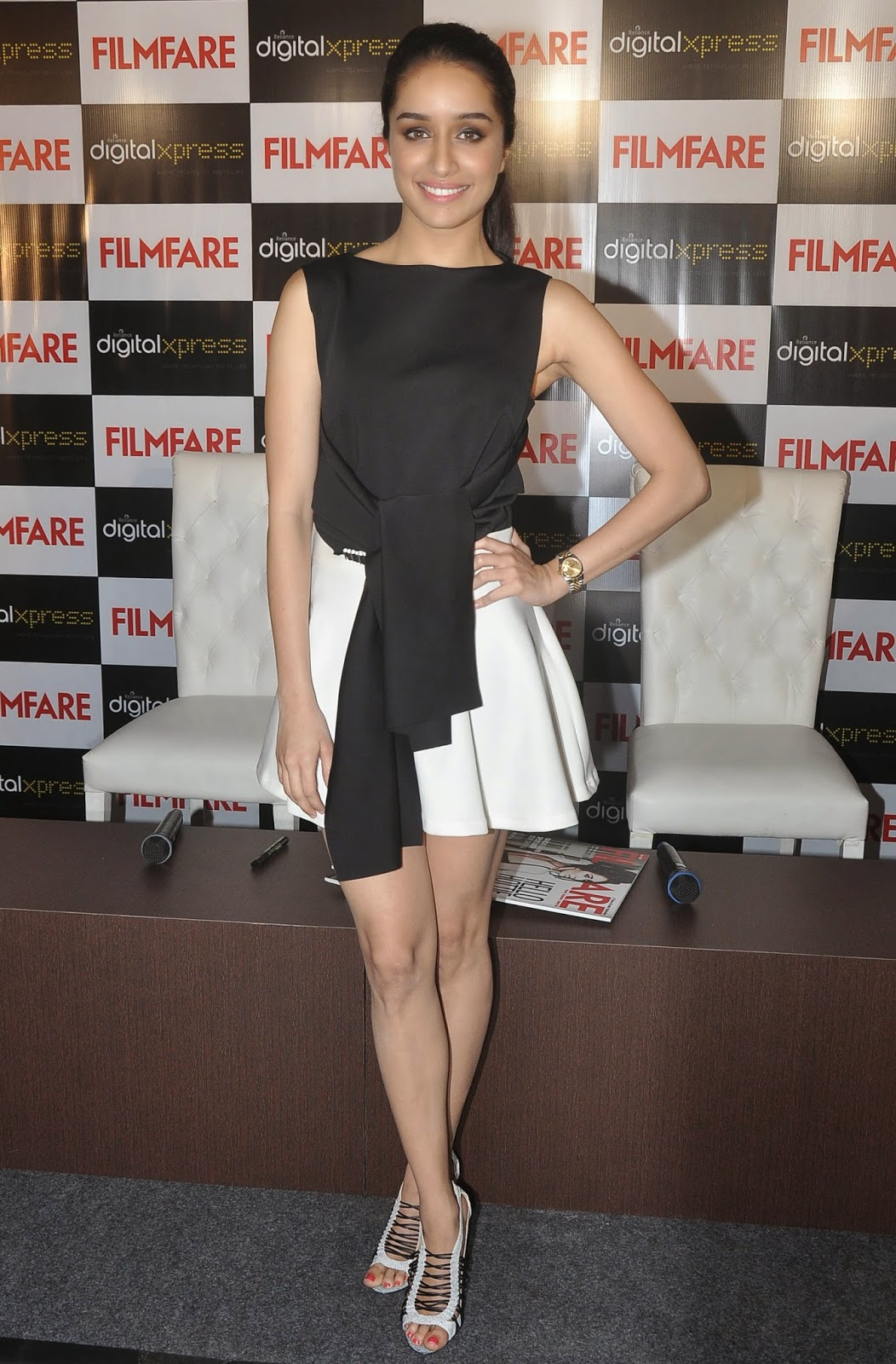 Shraddha Kapoor Photos In Short Dress At Filmfare Magazine -6833
