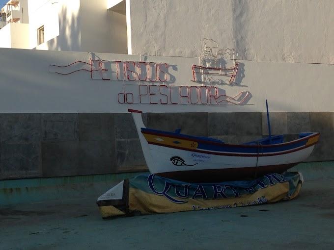 Quarteira, la playa de los pescadores