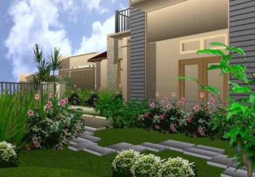 Desain interior rumah minimalis bagian depan rumah