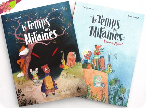 Le Temps des Mitaines de Loïc Clément et Anne Montel - Didier Jeunesse