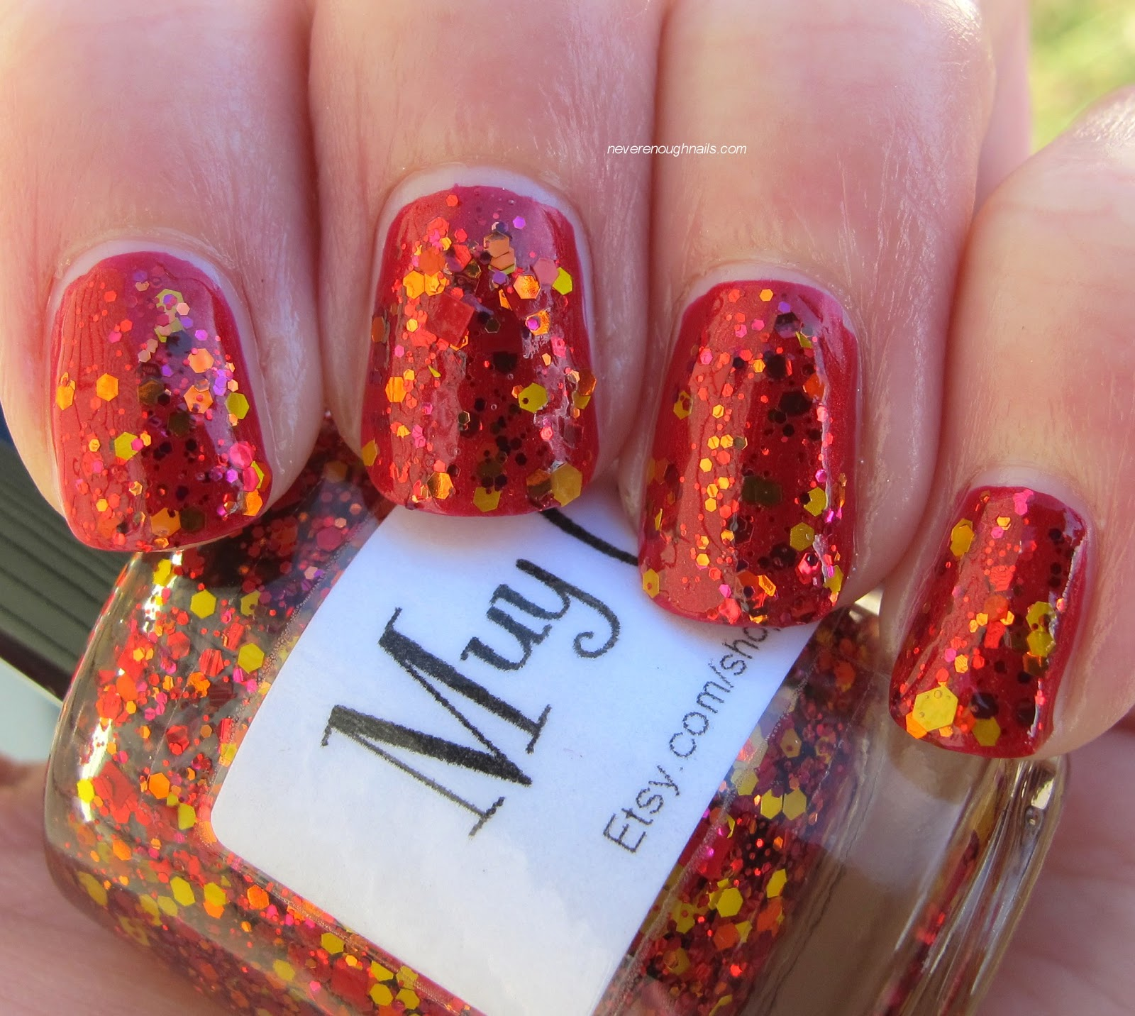 Never Enough Nails: Glimmer by Erica Muy Caliente!