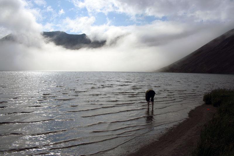 на озере кетачан камчатка