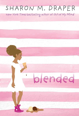 Blended packs a lot into a middle grade novel, but kids deal with these situations everyday: blended families (in race), blended families (in living situation), questions about who you are, where you belong, and how others and society perceive you. Blended will hit home for many while offering insight for those who haven't experienced these things.  It's a thought-provoking read that middle grade students will enjoy. #reading #book #middlegrade #fiction #middlegradebook