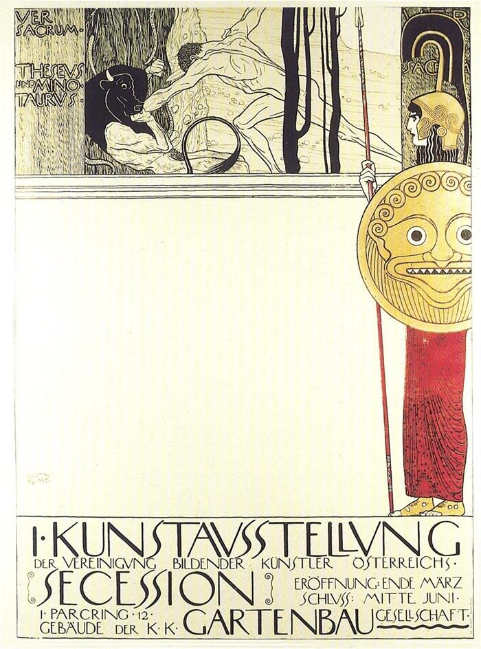 Gustav Klimt 1862 -1918 | The Secession movement 1890-1914