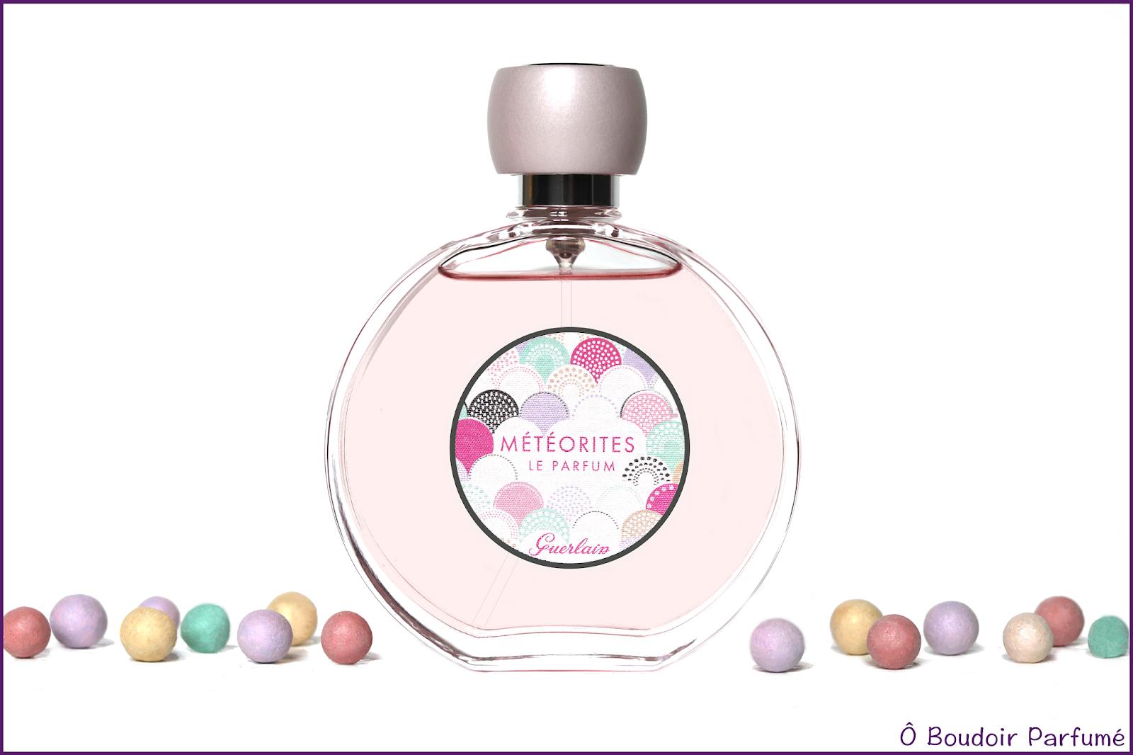 ô Boudoir Parfumé Météorites Le Parfum De Guerlain Une Réplique
