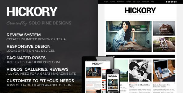 hickory wordpress download
