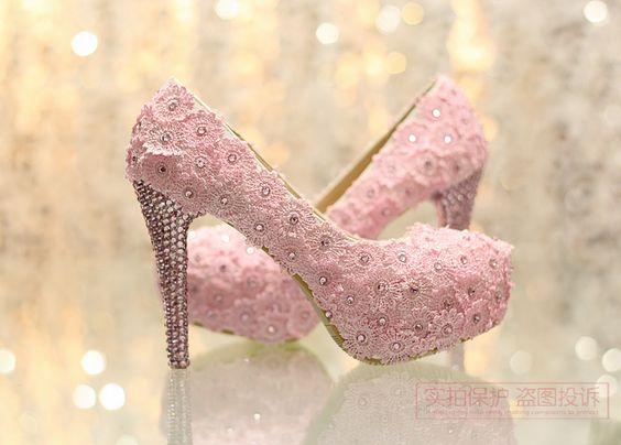 Sapato rosa  para debutante, site bazar da Marisa sugestão