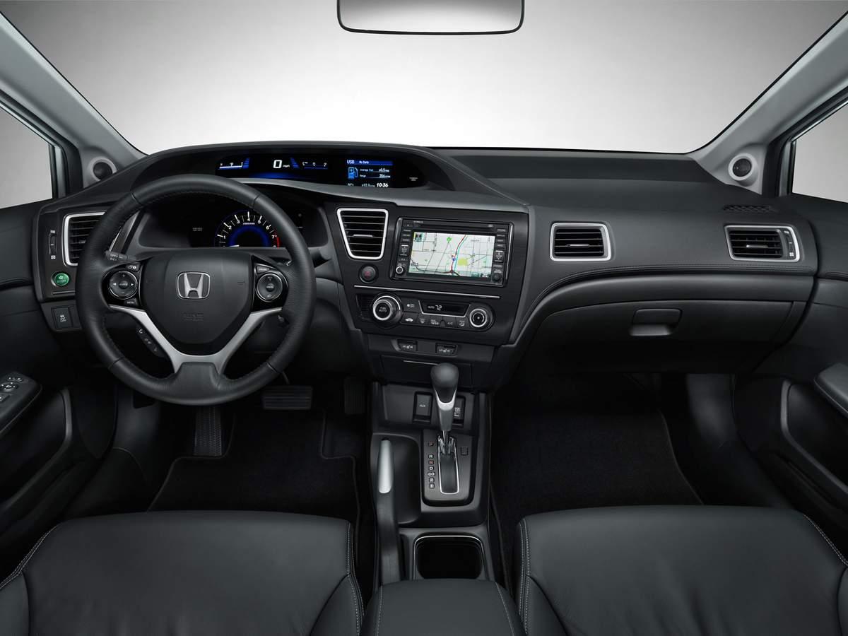 Lovely Honda Civic EXL 2013   Interior