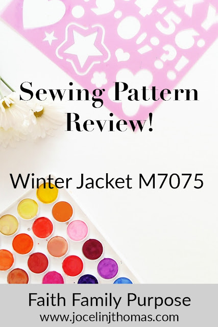 McCall's 7057 Jacket Review